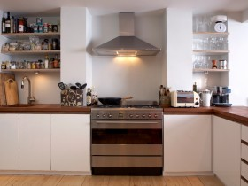 Space-saving kitchen