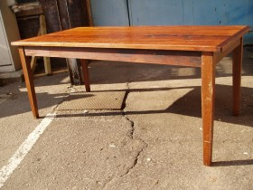 Reclaimed iroko table