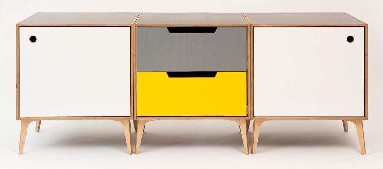 Modular sideboard - Jona Warbey