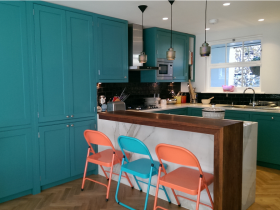 colourful kitchen main